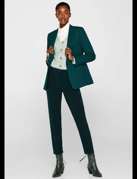 Tailleur pantalon : glamour