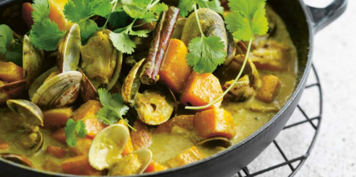 Curry de coquillages