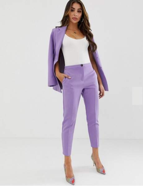 Tailleur pantalon : ultra-violet