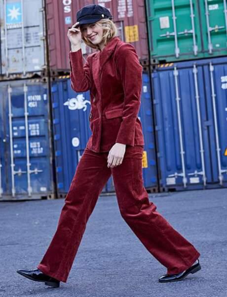 Tailleur pantalon : rétro
