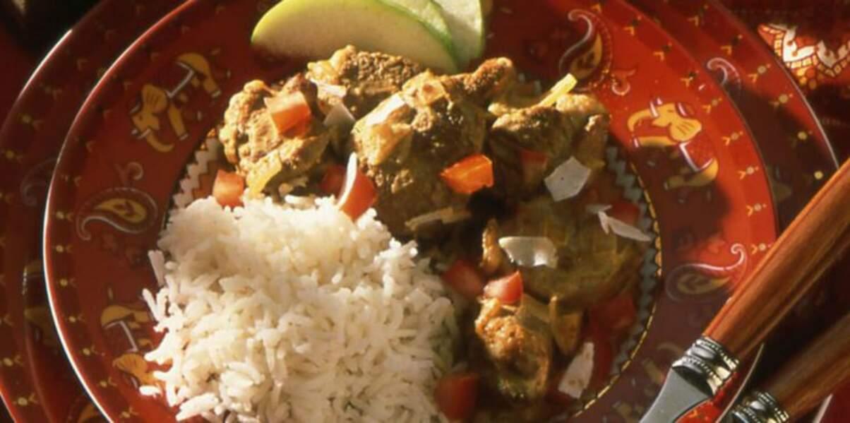 Curry d'agneau Madras