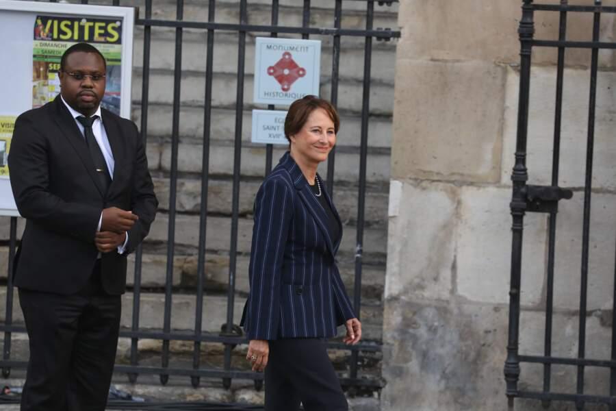 De nombreuses personnalités politiques ont fait le déplacement comme Ségolène Royal...