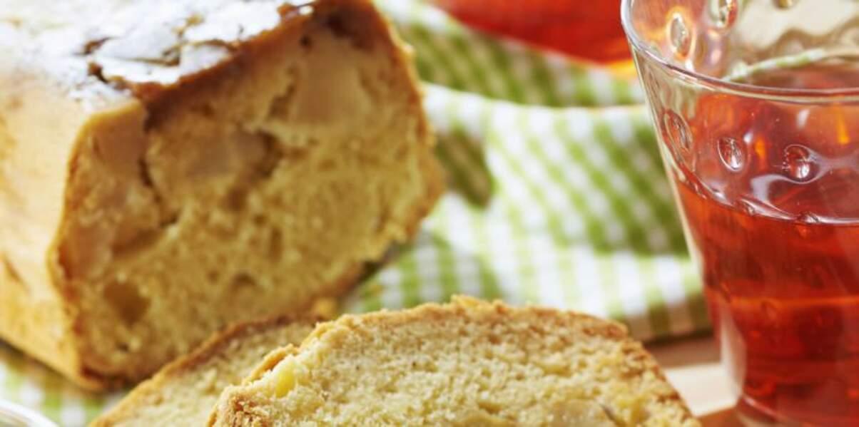 Cake aux pommes moelleux