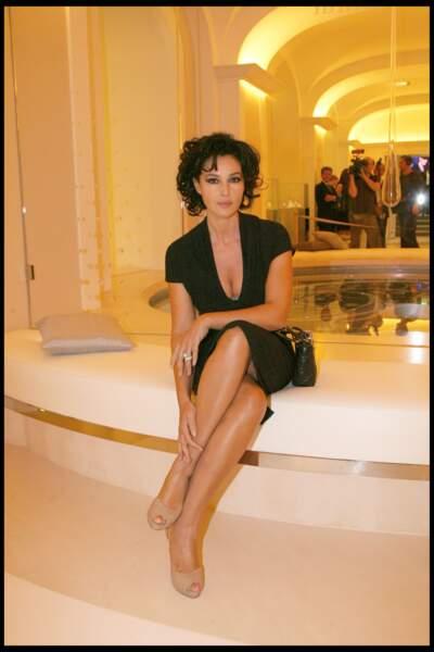 Les robes les plus sexy de Monica Bellucci : septembre 2008