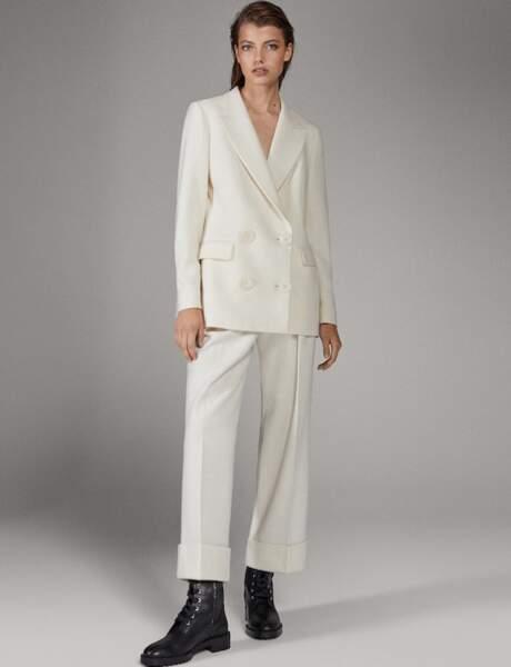 Tailleur pantalon : raffiné