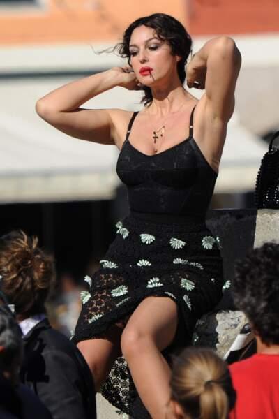 Les robes les plus sexy de Monica Bellucci : octobre 2011