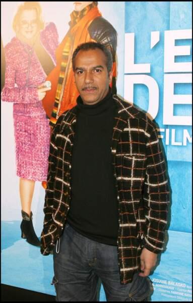 """Pascal Légitimus à l'avant-première du film """"L'ex-femme de ma vie"""" en 2005."""
