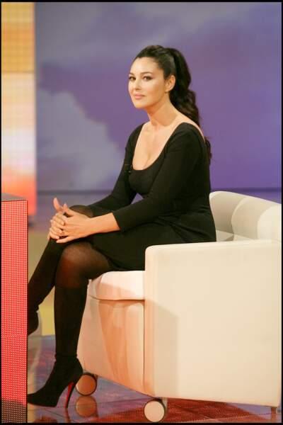 Les robes les plus sexy de Monica Bellucci : septembre 2007
