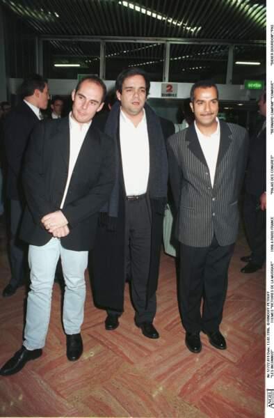 Les Inconnus à la 11ème cérémonie des Victoires de la musique en 1996.