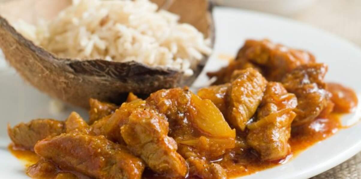 Curry de veau aux fruits d'hiver