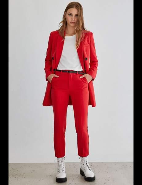Tailleur pantalon : rock