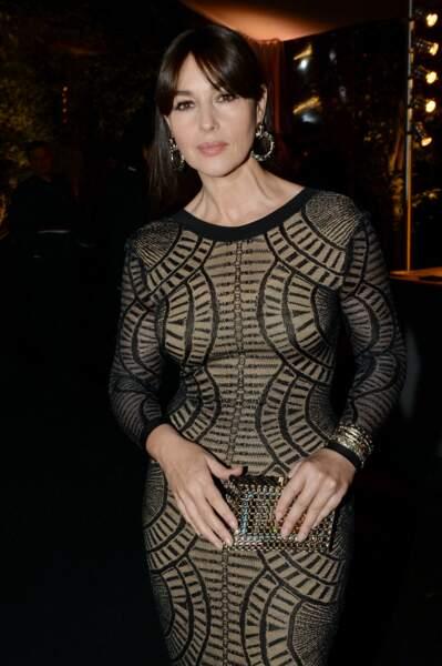 Les robes les plus sexy de Monica Bellucci : janvier 2016