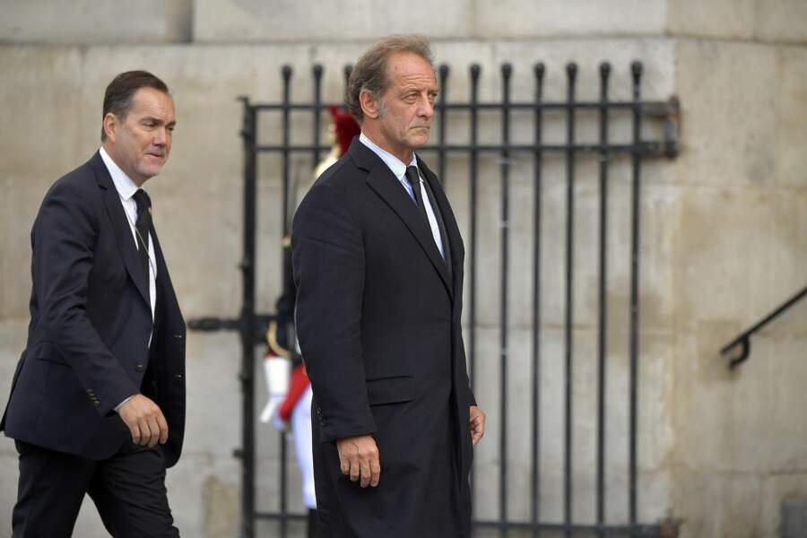 Vincent Lindon est venu pour soutenir Claude Chirac, celle qui fut sa compagne dans les années 80.