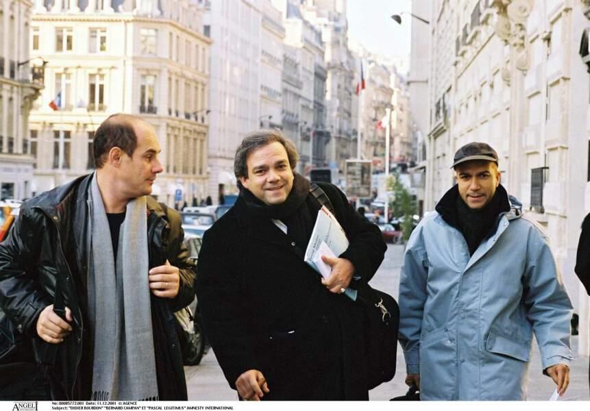 Didier Bourdon, Bernard Campan et Pascal Légitimus en 2001.
