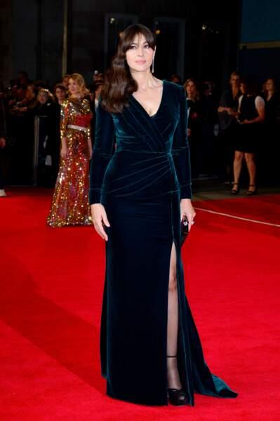 Les robes les plus sexy de Monica Bellucci : octobre 2015