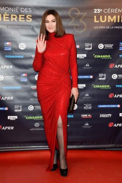 Les robes les plus sexy de Monica Bellucci : février 2018
