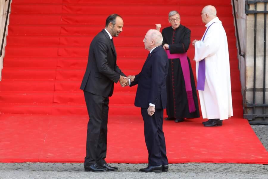 ... dont le père François Pinault est un ami de longue date du couple Chirac.