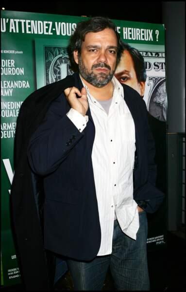 """Didier Bourdon à la première du film """"Vive la vie"""" en 2005."""