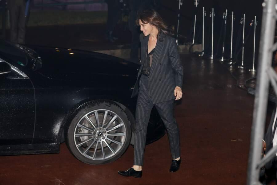 Et ce mardi 24 septembre, elle a fait une entorse à la règle en paradant à la Fashion week avec son aîné, Ben.
