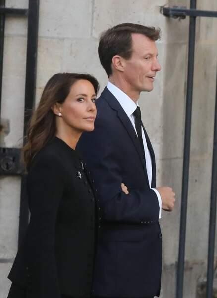 ... la princesse Marie et le prince Joachim de Danemark...