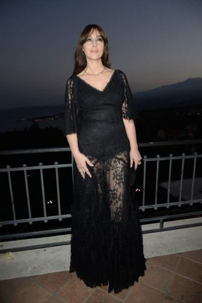 Les robes les plus sexy de Monica Bellucci : juillet 2017