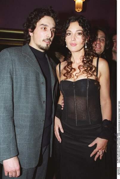 Les robes les plus sexy de Monica Bellucci : décembre 1999