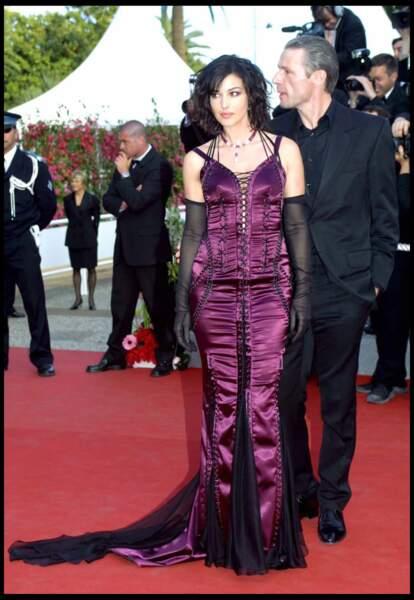 Les robes les plus sexy de Monica Bellucci : mai 2003