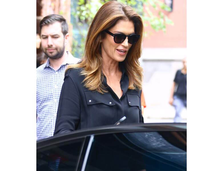 Cindy Crawford et son chatain clair profond