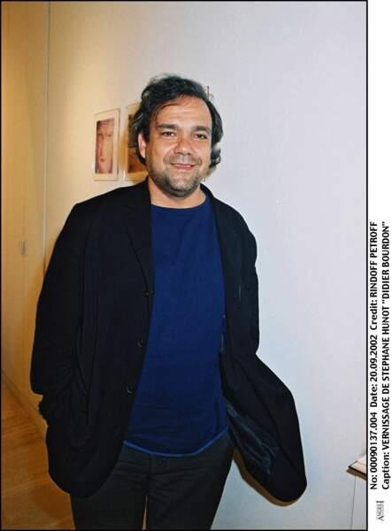 Didier Bourdon au vernissage de Stéphane Hunot en 2002.