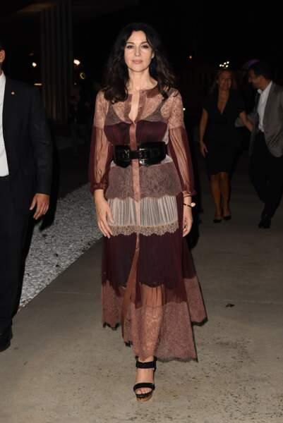 Les robes les plus sexy de Monica Bellucci : septembre 2016