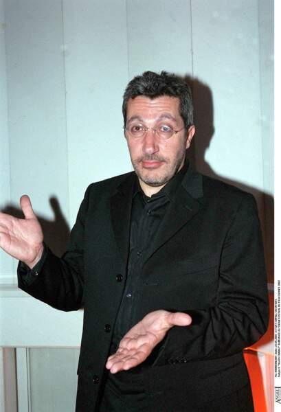 ... avec le comédien Alain Chabat. Relation amoureuse et professionnelle.