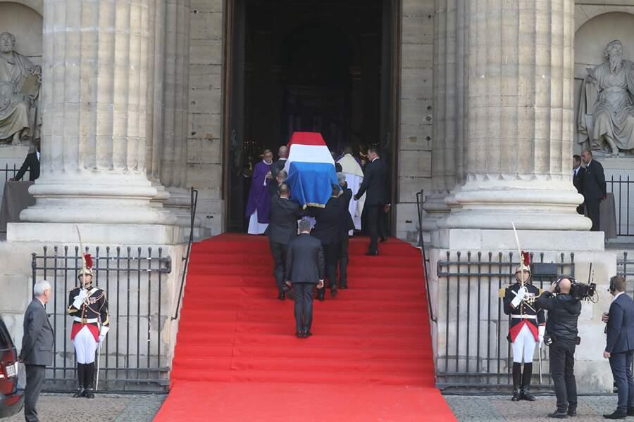 ...tous sont venus saluer une dernière fois la mémoire de Jacques Chirac mort le 26 septembre à 86 ans.