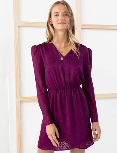 Tendance violet : robe