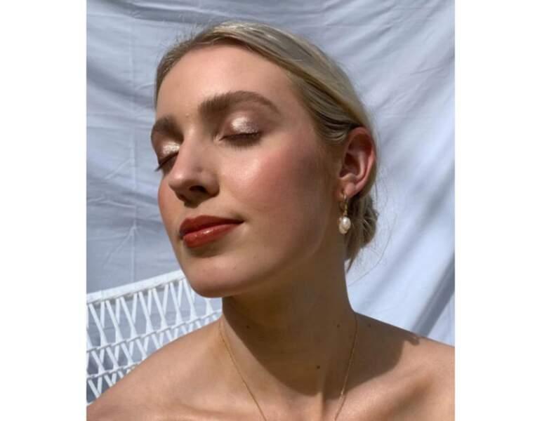 Le make-up scintillant