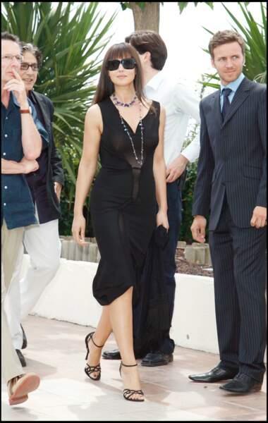 Les robes les plus sexy de Monica Bellucci : mai 2006