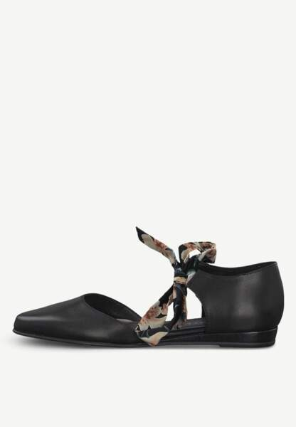 Tendance chaussures plates : ballerines ouvertes