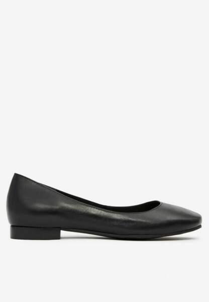 Tendance chaussures plates : ballerines seconde peau