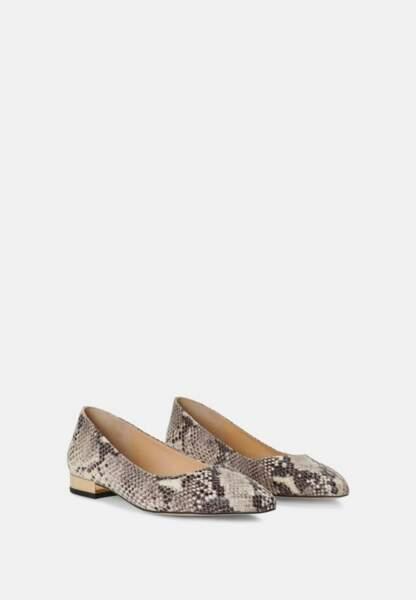 Tendance chaussures plates : ballerines à micro talons