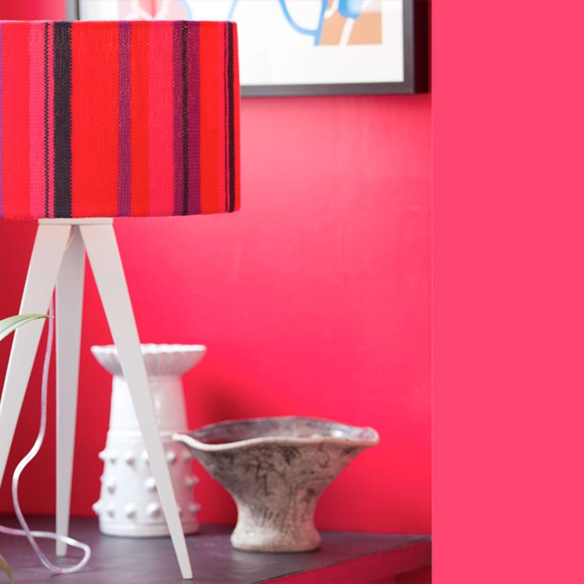 Comment Customiser Une Lampe De Chevet je crée une lampe pour mon salon : femme actuelle le mag