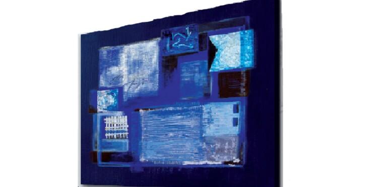 Mon tableau bleu arctique
