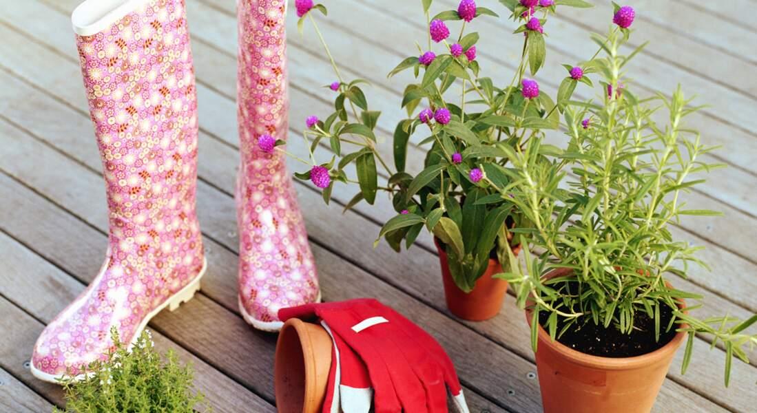 Un jardin dans mes chaussures !