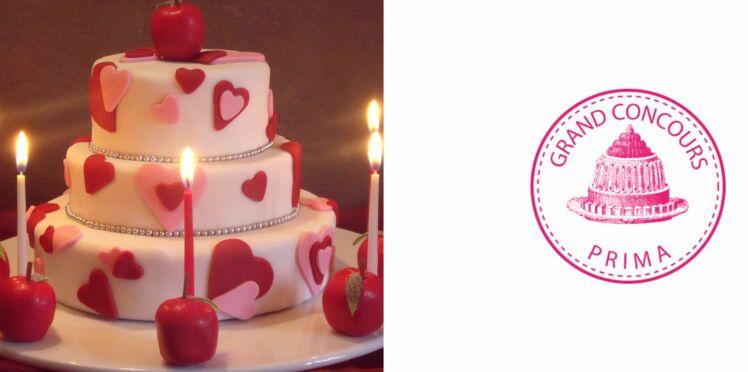 """Le gâteau """"Célébration d'amour"""""""