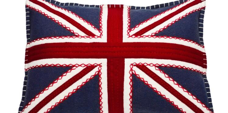 Un coussin drapeau anglais