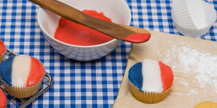 La recette des cupcakes du 14 juillet !