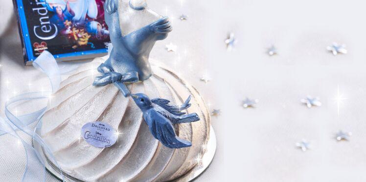 Un gâteau féerique en hommage à Cendrillon