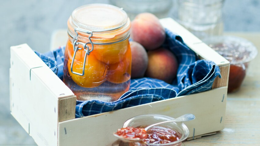 Fruits au sirop et confitures : le meilleur de la saison