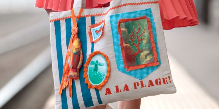 Je crée mon sac de plage