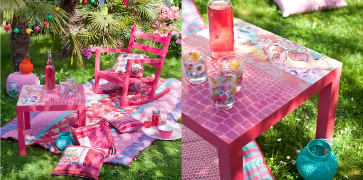 Déco : ambiance gipsy chic dans mon jardin