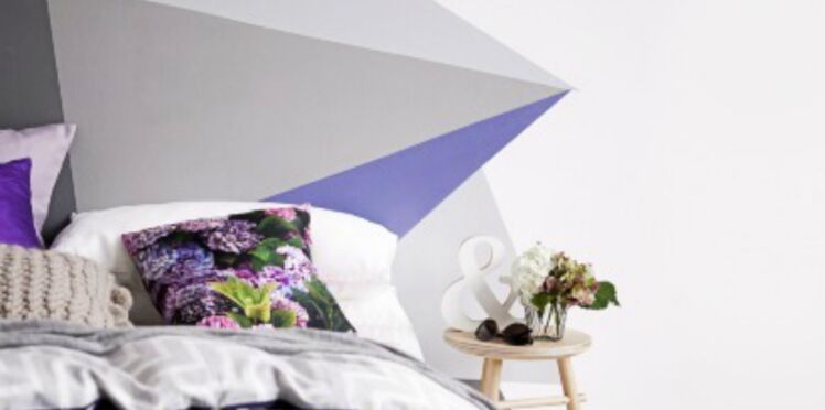 Ma tête de lit : version abstraction chic