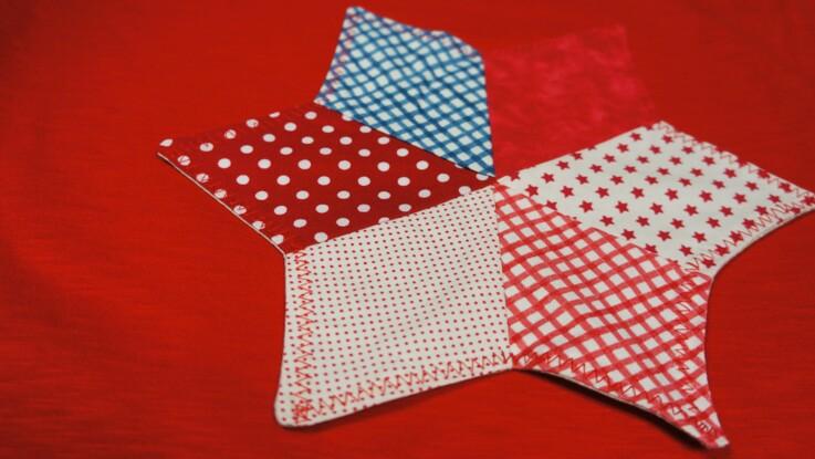 Conseils patchwork : l'étoile